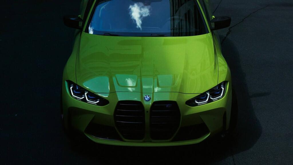 2021 BMW M4 Front View